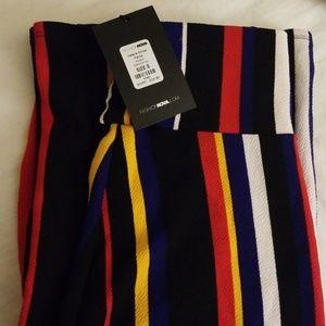 Fashion nova striped pants